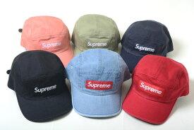 【並行輸入品】Supreme Washed Chino Twill Camp Cap シュプリーム ウォッシュ チノ ツイル キャンプ キャップ 帽子 全9色
