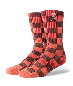STANCE スタンス Socks ソックス SANTARCHY メンズ オレンジ 靴下 ストリート スケーター スケート バスケット santarchy