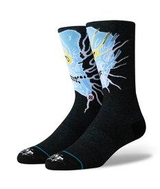 STANCE GRIME スタンス グライム Socks ソックス GRIME メンズ ブラック 靴下 ストリート スケーター スケート バスケット grime