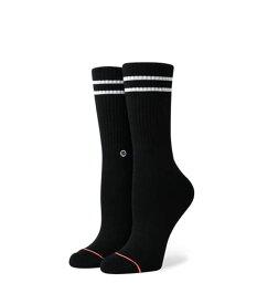 STANCE スタンス Socks ソックス レディース 靴下 VITALITY ストリート ブラック スケーター スケート vitality