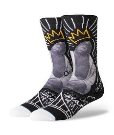 STANCE スタンス Socks ソックス B.I.G. メンズ ブラック ビギー・スモールズ コラボレーションモデル 靴下 ストリート スケーター スケート バスケット b.i.g