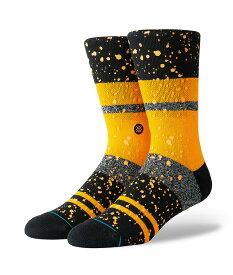 STANCE スタンス Socks ソックス NERO メンズ オレンジ 靴下 ストリート スケーター スケート バスケット