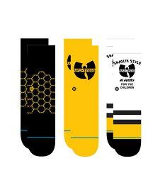 STANCE KIDS スタンス Socks ソックス WU TANG 3 PACK ウータン 3パック 靴下 ストリート スケーター スケート キッズ ベビー トドラー 3枚セット 2歳〜4歳 プレゼント