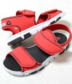 【17cm-22cm】Reebok WAVE GRIDER リーボック ウェーブ グライダー レッド ベビー BABY キッズ KIDS 子供靴 サンダル cn1590