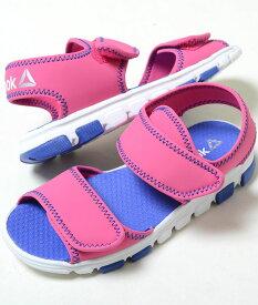 【17cm-22cm】Reebok WAVE GRIDER リーボック ウェーブ グライダー ピンク ベビー BABY キッズ KIDS 子供靴 サンダル cn1596