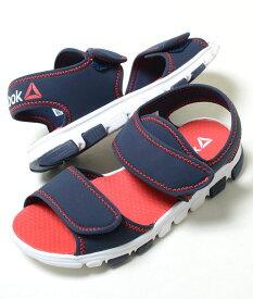 【17cm-22cm】Reebok WAVE GRIDER リーボック ウェーブ グライダー ネイビー ベビー BABY キッズ KIDS 子供靴 サンダル cn1592