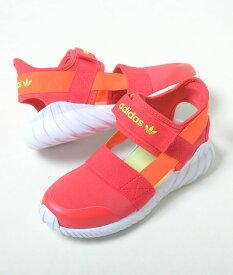 【17cm-21.5cm】adidas DOOM SANDAL C アディダス ドーム サンダル C レッド キッズ スニーカー サンダル 子供靴 fv7597