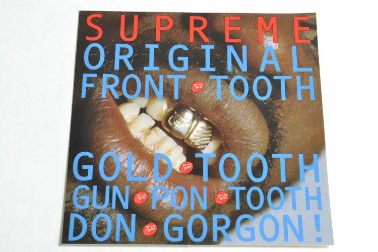 Supreme シュプリーム ステッカー(TOOTH)銀歯