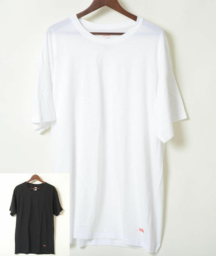 3枚パックばら売り SUPREME/Hanes Tagless Tees シュプリーム x へインズ Tシャツ 全2色