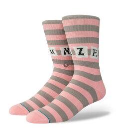 STANCE スタンス Socks ソックス SUN DAZE 靴下 ストリート スケーター スケート バスケット メンズ ピンク