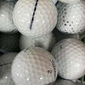 【送料無料】 ロストボール タイトリスト Titleist PRO V1 2017年モデル 30球 【Bランク】 ゴルフボール 【中古】