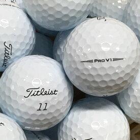 【中古】TITLEIST PRO V1 2019年モデル ホワイト 20球【ABランク】【ロストボール】