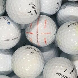 【送料無料】 ロストボール タイトリスト Titleist PRO V1 2019年モデル ホワイト 30球 【Bランク】 ゴルフボール 【中古】