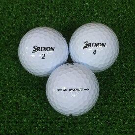 【送料無料】 ロストボール スリクソン SRIXON Z-STAR 2017年モデル ホワイト 20球 【ABランク】 ゴルフボール 【中古】