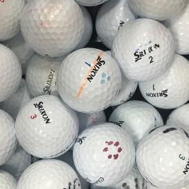 【送料無料】 ロストボール スリクソン SRIXON 各種混合 ホワイト系 50球 【Bランク】 ゴルフボール 【中古】