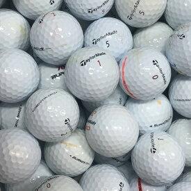 【送料無料】 ロストボール テーラーメイド TaylorMade 各種混合 ホワイト系 50球 【Bランク】 ゴルフボール 【中古】