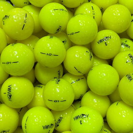 【送料無料】 ロストボール 本間ゴルフ HONMA D1 イエロー 30球 【A+ABランク】 ゴルフボール 【中古】