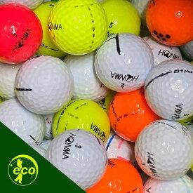 【送料無料】 ホンマ HONMA 色々 50球 【A+ABランクマーカー入り】ゴルフボール 【中古】