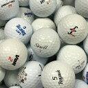【中古】【送料無料】 ロストボール 色々 50球セット ホワイトボール【A + ABランク】【ロストボール】