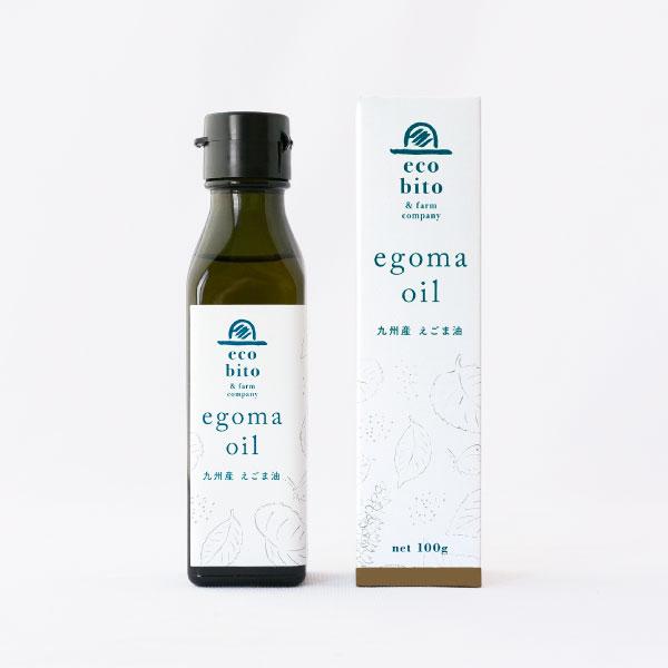 ecobito & farm company 九州産 えごま油 Perilla Oil 100g