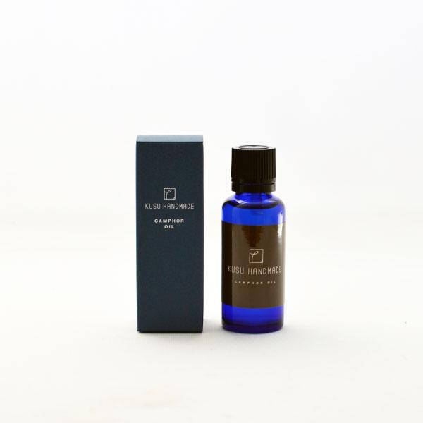 カンフルオイル 30ml/KUSU HANDMADE/ くすのき油 樟脳油 エッセンシャルオイル