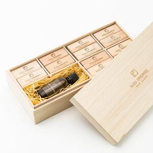 エコブロック 36個+カンフルオイル 50ml 桐箱入り/KUSU HANDMADE/ 衣類用 天然防虫剤 ギフト対応可
