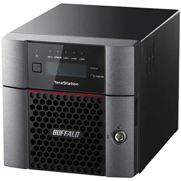 ★バッファロー TS5210DN0402 TeraStation TS5210DNシリーズ 10GbE標準搭載 法人向け 2ドライブNAS 4TB 送料無料 tzs