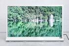 【中古】 SHARP フルHD液晶テレビ AQUOS 40V型 (ホワイト系/2013年製) LC-40J9 LEDバックライト スラントデザイン○976v10