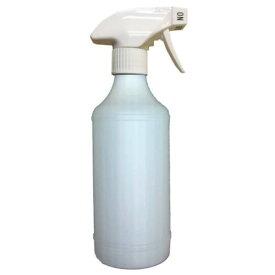 【お一人様3本まで】ガンボトル・スプレーボトル_500ml スプレー(トリガー):白色_ボトル:ナチュラル_キャニヨン_T-95【安心の国産・日本製】アルコールや洗剤を入れてご使用ください。