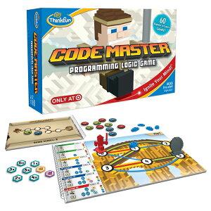 コードマスター CODE MASTER 正規輸入品コードの考え方を学ぶ本当の プログラミング 問題解決能力が身につく!ThinkFun シンクファン 脳トレ 知育 玩具 ボードゲーム 子供 パズル おもちゃ クリ
