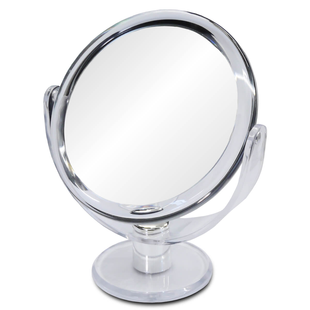 10倍鏡 通常の鏡の10倍の大きさで映る!細かなメイクや日々のスキンケアに最適!メイク 化粧 コンタクトレンズ シミ シワ スキンケア 鏡 ミラー 拡大鏡 10倍拡大鏡 宅配便送料無料