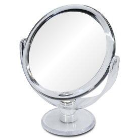拡大鏡 卓上 10倍鏡 通常の鏡の10倍の大きさで映る!細かな メイク や日々の スキンケア に最適!ミラー メイク 化粧 コンタクトレンズ シミ シワ スキンケア 鏡 10倍拡大鏡 宅配便送料無料
