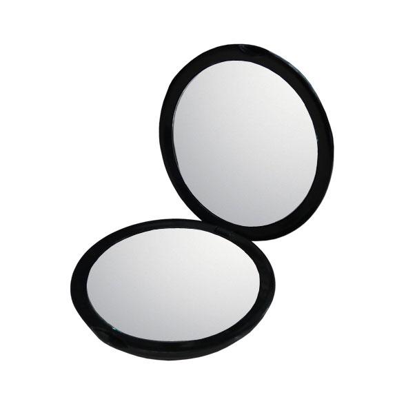 10倍鏡 通常の鏡の10倍の大きさで映る手鏡!細かなメイクや日々のスキンケアに最適!持ち運びに便利なコンパクトミラーメイク 化粧 コンタクトレンズ シミ シワ スキンケア 拡大鏡 10倍拡大鏡 ネコポス送料無料
