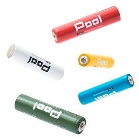 ニッケル水素電池 単4形 950mAhNi-MH 充電池 Pool プール 1本ばら売り