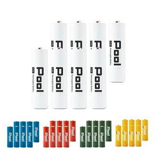 充電池単3形8本セット収納ケース付Poolプール大容量2150mAh!約1000回繰り返し使える単3電池×8本セット日本正規品販売代理店エネループエネロングを超える大容量!おもちゃ等に![EL21D3P4*2]ネコポス送料無料