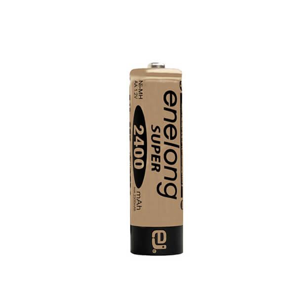 約1000回繰り返し使える単3形乾電池enelong超大容量2400mAh!エネロングスーパー単3形電池[SUPER Gold]×1本バラ売り 日本正規品販売代理店