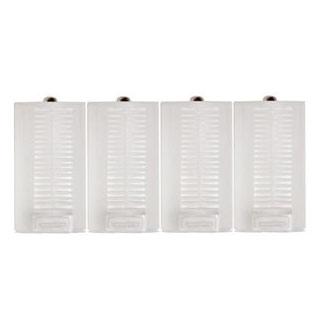 単3電池を単1電池に変換!単1形 スペーサー 4個セット / 単三電池1〜2個入れ対応タイプ /宅配便送料無料