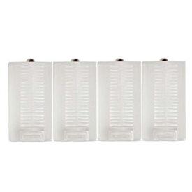 単1電池 アルカリ電池 単1 乾電池 充電池 単3形 電池を 単1形 に変換できる単一 スペーサー 4個セット懐中電灯 拡声器 など 単1電池 を使用する機器に単三電池1〜2個入れ対応宅配便送料無料