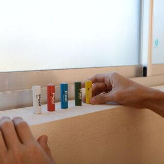ニッケル水素電池単4形900mAhNi-MH充電池Poolプール4本セット電池用プラスチックケース×1個付属