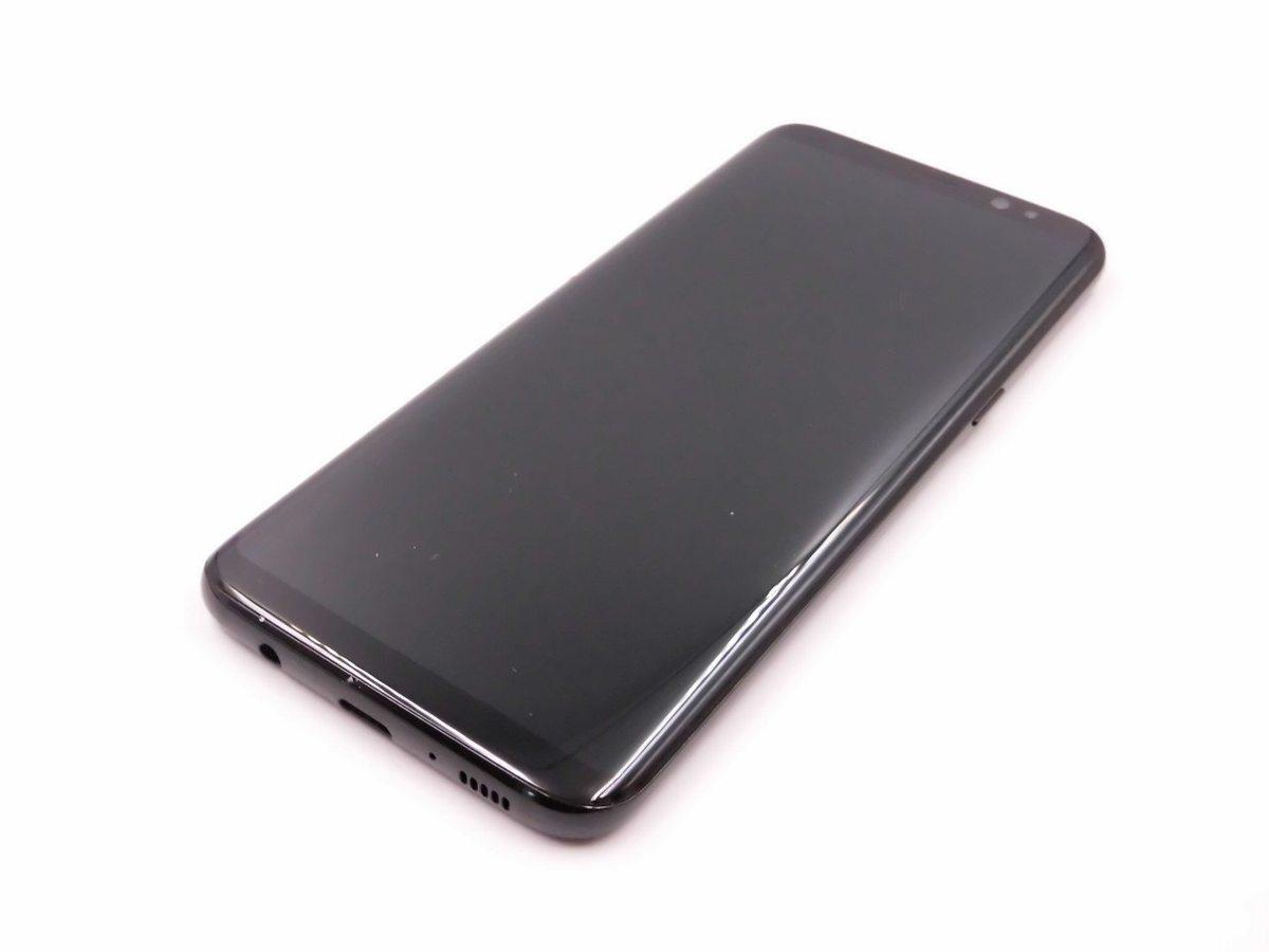 【中古良品 保証】docomo SC-02J Galaxy S8(SAMSUNG) ブラック 中古 スマホ 白ロム GALAXY ▲