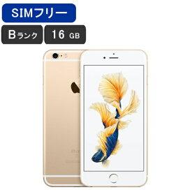 【土日も毎日発送】【美品 保証】SIMフリー iPhone6S Plus 16GB [Bランク/ゴールド] SoftBankロック解除済み [MNCG2J/A] 激安 白ロム [中古 スマホ] 本体 Apple アップル 送料無料 利用制限○