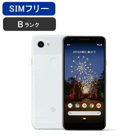 【土日も毎日発送】【美品 保証】SIMフリー Pixel 3a [Bランク/ホワイト]softbank ロック解除済み [google] 激安 白ロム [中古 スマホ] 本体 グーグル ピクセル ソフトバンク