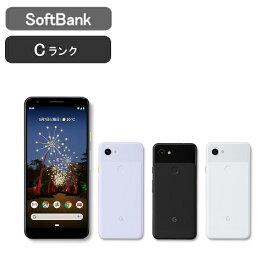 【土日も毎日発送】【良品 保証】Softbank Pixel 3a [Cランク/ブラック/ホワイト/パープル] [google] 激安 白ロム [中古 スマホ] 本体 グーグル ピクセル ソフトバンク
