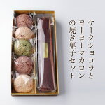 ケーク・ショコラ+ヨーヨーマカロン5個セット