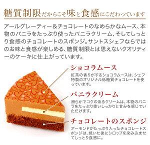 スリム・ショコラ(直径15cm)夢の糖質制限スイーツケーキ!【冷凍便】
