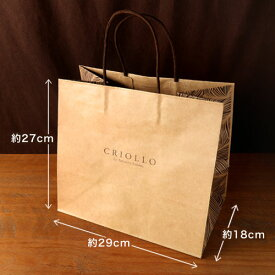 【手さげ袋】紙手さげ(大)※商品同梱専用