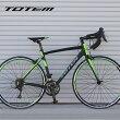 ロードバイク自転車アルミ軽量700CTOTEMシマノ18段変速SORAシマノF/RディレーラーSTIデュアルコントロールレバー