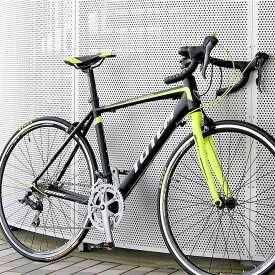ロードバイク 自転車 アルミ 軽量 700C シマノ16段変速 クラリス シマノF/Rディレーラー STI デュアルコントロールレバー TOTEM 15B407