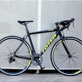 ロードバイク 自転車 アルミ 軽量 700C TOTEM シマノ14段変速 STI デュアルコントロールレバー