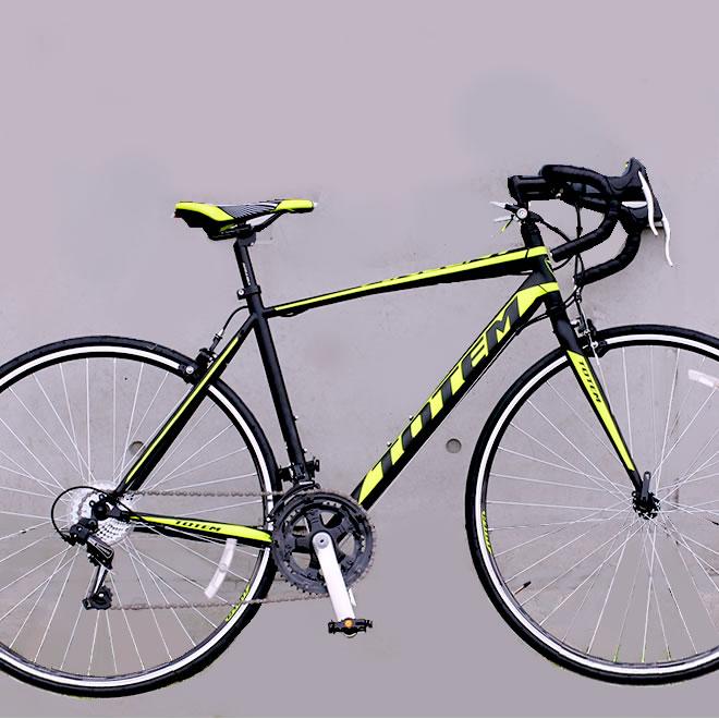ロードバイク 自転車 700C シマノ14段変速 シマノF/Rディレーラー 自転車